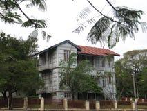 Eiffel & x27; casa de aço de s em Maputo fotografia de stock