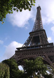 Eiffel de Paris tournee Obrazy Royalty Free