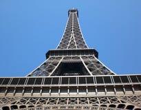 Eiffel en sus pies Imagen de archivo