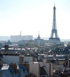 eiffel France Paris dachu wycieczka turysyczna Obrazy Stock