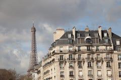 eiffel france paris torn Royaltyfri Fotografi