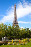 eiffel france paris turnerar Arkivfoto