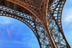 Eiffel leg detail Royalty Free Stock Images