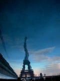 Eiffel místico foto de archivo