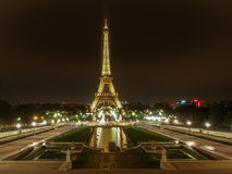 Eiffel by night Royalty Free Stock Images