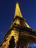 eiffel night tower στοκ φωτογραφίες