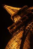 eiffel noc wierza Fotografia Stock