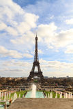 eiffel paris torn Royaltyfria Bilder