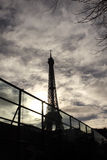 eiffel paris torn Royaltyfri Bild
