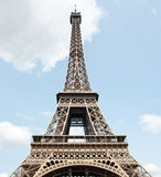 eiffel paris torn france Royaltyfri Bild