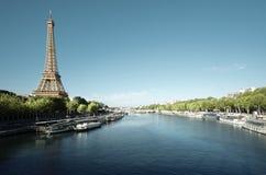 eiffel paris torn france Fotografering för Bildbyråer
