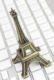 Eiffel står hög Royaltyfria Foton
