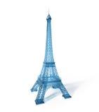 Eiffel står hög 3D stock illustrationer