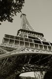 Eiffel står hög Paris Frankrike royaltyfri foto