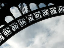Eiffel texture 2 Stock Photography