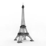 Eiffel torn i Paris Arkivfoton