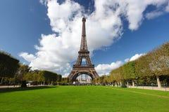 Eiffel torn i Paris, Frankrike Arkivbild
