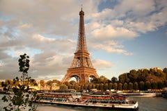 Eiffel torn i Paris, Frankrike Royaltyfri Fotografi