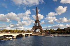 Eiffel torn i Paris, Frankrike Arkivfoto