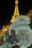 Eiffel torn Las Vegas Royaltyfria Bilder