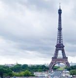 Eiffel torn på dagen Royaltyfri Foto