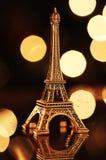Eiffel-torre miniatura Imagen de archivo