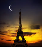 Eiffel-torretta Fotografie Stock