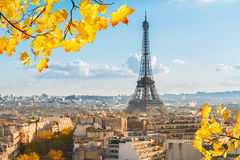 Eiffel tour and Paris cityscape Stock Photography