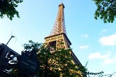 Eiffel tour. The view of the tour Eiffel Royalty Free Stock Photo