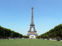 Eiffel tower. In Paris, France Royalty Free Stock Images