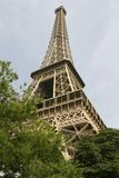Eiffel Tower. Eiffle Tower shot from Avenue Gustave Eiffel in the afternoon royalty free stock photography