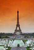 Eiffel Tower. Autumn seen Eiffel Tower, Paris Royalty Free Stock Photography