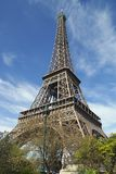 Eiffel Tower. The most visited monument of Paris Royalty Free Stock Photo