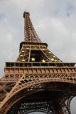 The Eiffel Tower. Standing mighty Royalty Free Stock Photography