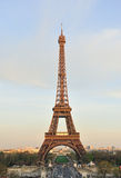 Eiffel tower. Before sunset time at Paris stock image