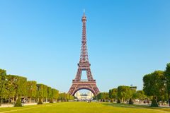Eiffel Tower. View on Eiffel Tower, Paris, France Royalty Free Stock Photo