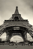 Eiffel Tower #2. Panoramic picture of Eiffel Tower in Paris, France Stock Photo