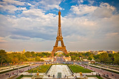 Eiffel Tower. In Paris, France Royalty Free Stock Photo