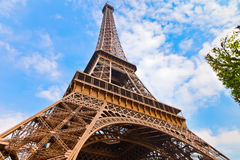 Eiffel Tower. Close up of Eiffel Tower, Paris, France Stock Image