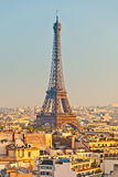 Eiffel Tower. Close up of Eiffel Tower, Paris, France Stock Photo