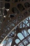 Eiffel tower. Iron construction of eiffel tower Royalty Free Stock Photo