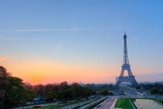 Eiffel tower. In Paris France Royalty Free Stock Photo