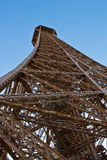 Eiffel Tower. The Eiffel Tower from below Royalty Free Stock Photo