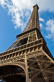 Eiffel Tower. The Eiffel Tower from below Royalty Free Stock Image