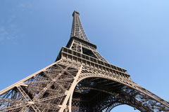 Eiffel Tower. The Eiffel Tower in Paris royalty free stock photo