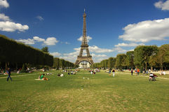 Eiffel Tower. In Paris, France Stock Photography