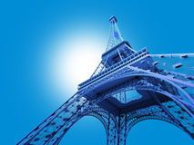 Eiffel Tower Stock Photo