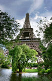 Eiffel Tower #3. Panoramic picture of Eiffel Tower in Paris, France Stock Photography