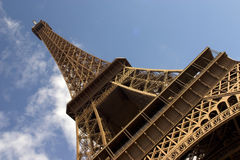 Eiffel Tower. The Eiffel Tower in Paris Royalty Free Stock Images