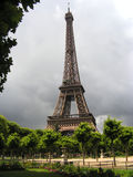 Eiffel Tower. View on a  tremendous Eiffel tower Royalty Free Stock Photos